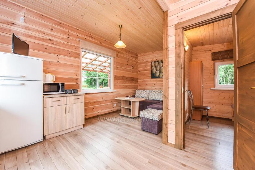 Viensēta Irvita in Plunges jomā ar banketu zāli, pirti, guļamistabām, mājiņām - 61
