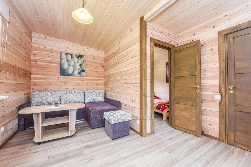 Viensēta Irvita in Plunges jomā ar banketu zāli, pirti, guļamistabām, mājiņām - 62