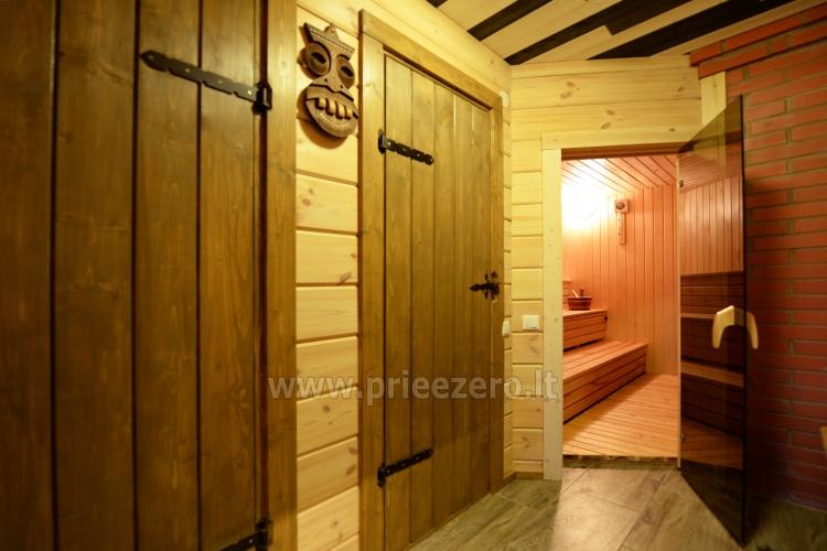 Viensēta Irvita in Plunges jomā ar banketu zāli, pirti, guļamistabām, mājiņām - 36
