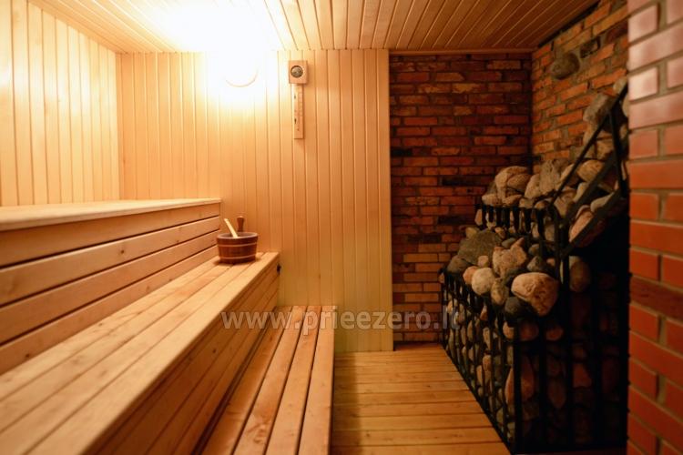 Viensēta Irvita in Plunges jomā ar banketu zāli, pirti, guļamistabām, mājiņām - 39