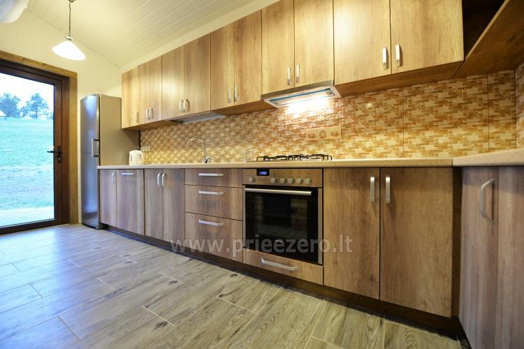 Viensēta Irvita in Plunges jomā ar banketu zāli, pirti, guļamistabām, mājiņām - 40