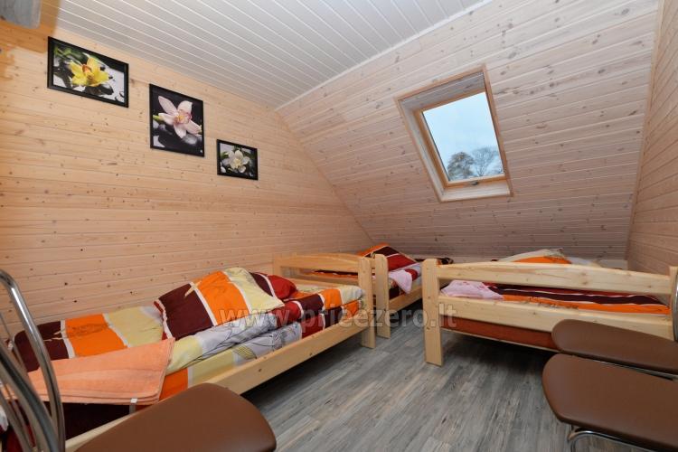 Viensēta Irvita in Plunges jomā ar banketu zāli, pirti, guļamistabām, mājiņām - 41