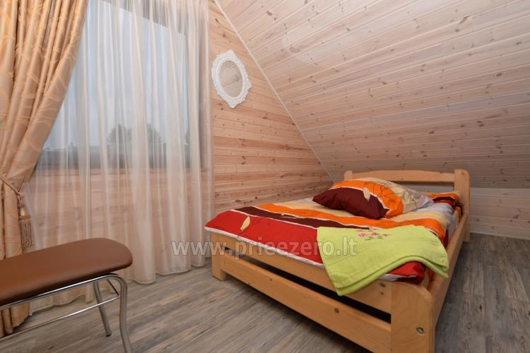 Viensēta Irvita in Plunges jomā ar banketu zāli, pirti, guļamistabām, mājiņām - 43