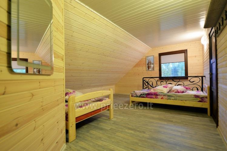 Viensēta Irvita in Plunges jomā ar banketu zāli, pirti, guļamistabām, mājiņām - 44