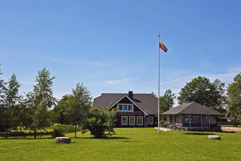 Vila RUNA - atpūsties netālu no viena no skaistākajiem ezeriem Lietuvā Plateliai - 5