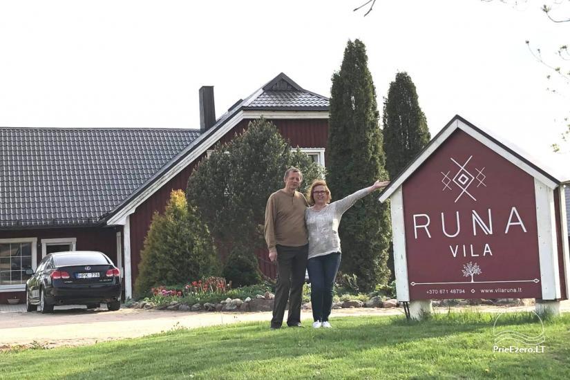 Vila RUNA - atpūsties netālu no viena no skaistākajiem ezeriem Lietuvā Plateliai - 2