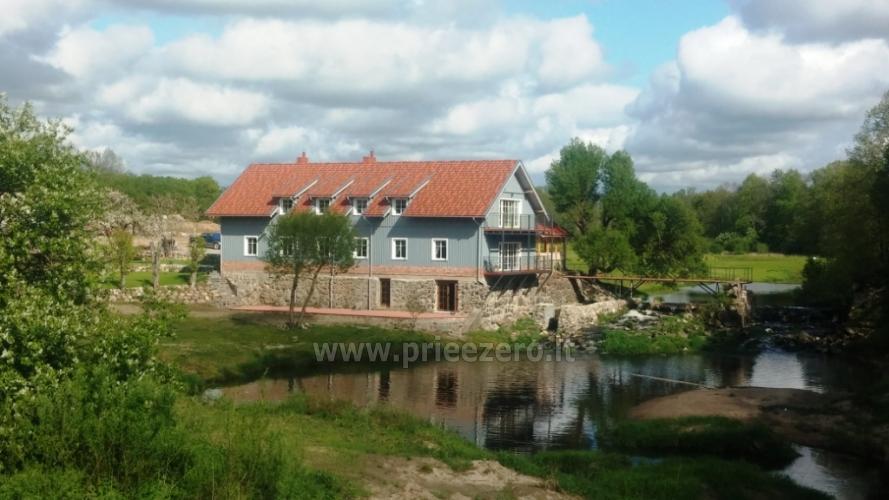 Lauku māja ar banketu zāli netālu no Klaipēdas Pagraumenės malūnas - 3