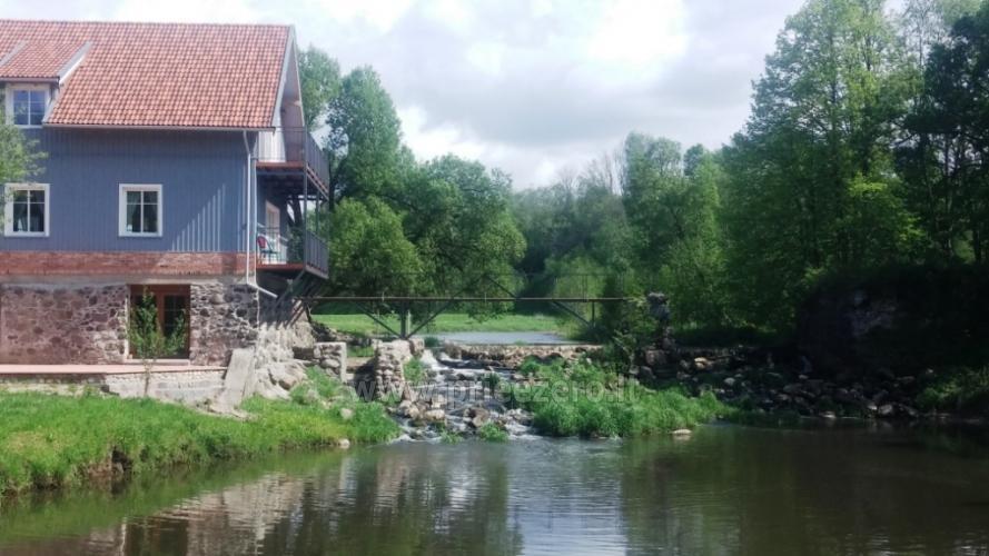 Lauku māja ar banketu zāli netālu no Klaipēdas Pagraumenės malūnas - 4
