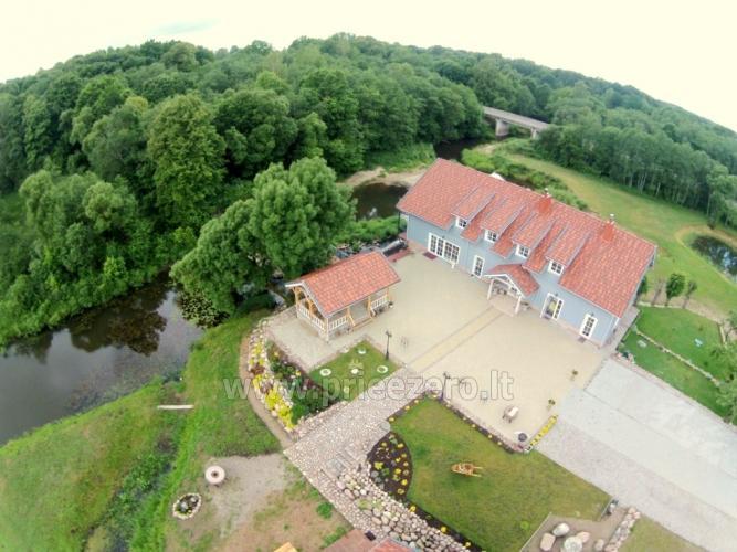 Lauku māja ar banketu zāli netālu no Klaipēdas Pagraumenės malūnas - 1