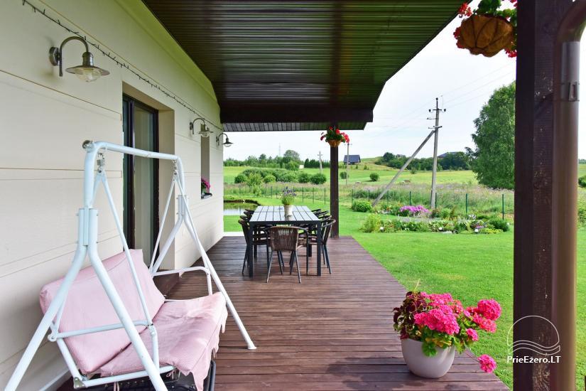 Villas un sauna īre Traķos reģionā - Villa Trakai - 6