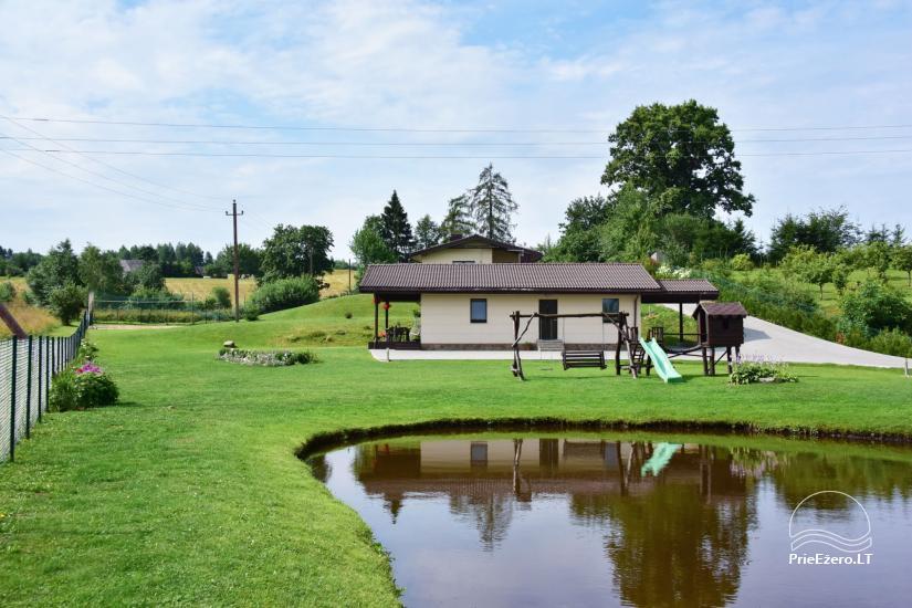 Villas un sauna īre Traķos reģionā - Villa Trakai - 7