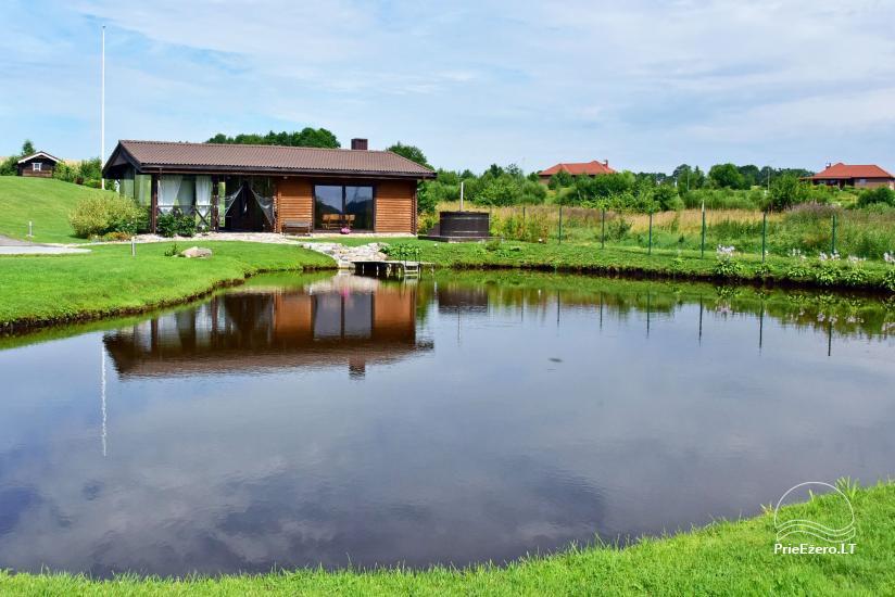 Villas un sauna īre Traķos reģionā - Villa Trakai - 36