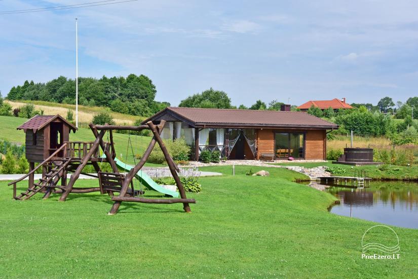 Villas un sauna īre Traķos reģionā - Villa Trakai - 37