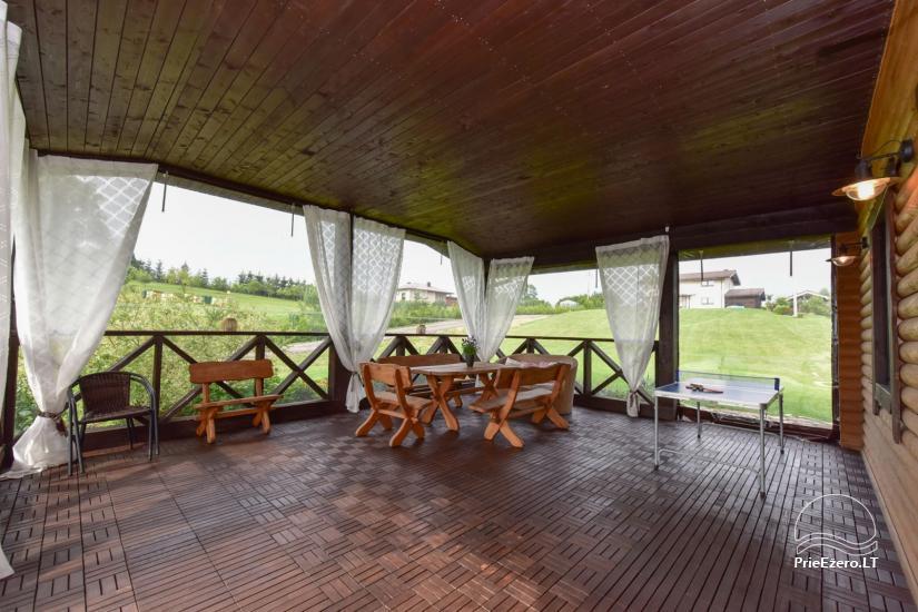 Villas un sauna īre Traķos reģionā - Villa Trakai - 40