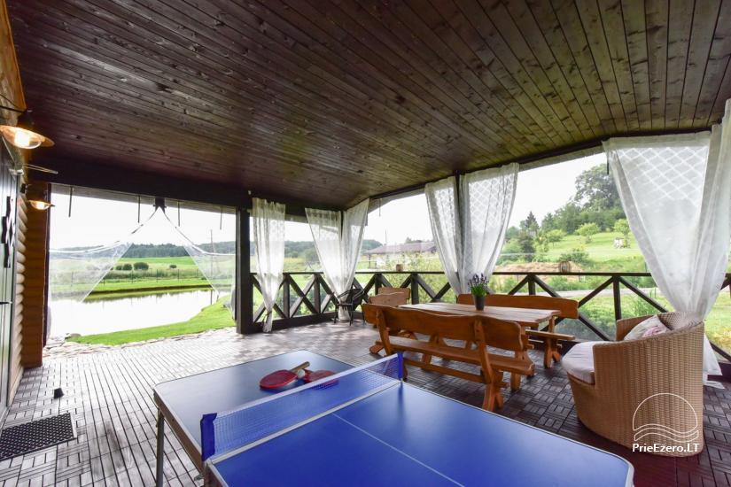 Villas un sauna īre Traķos reģionā - Villa Trakai - 41