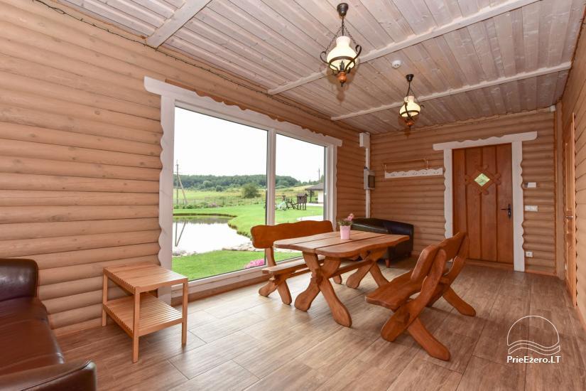 Villas un sauna īre Traķos reģionā - Villa Trakai - 45