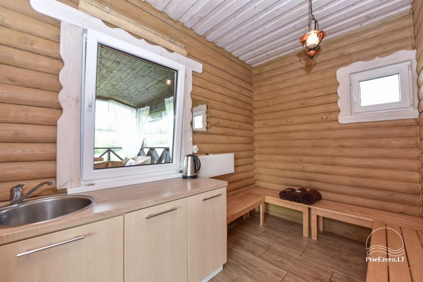 Villas un sauna īre Traķos reģionā - Villa Trakai - 47