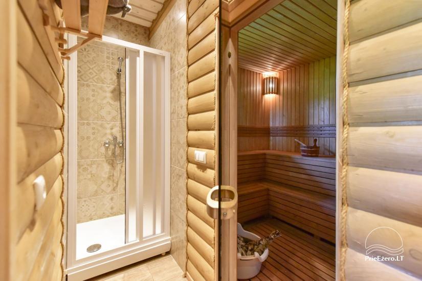 Villas un sauna īre Traķos reģionā - Villa Trakai - 49