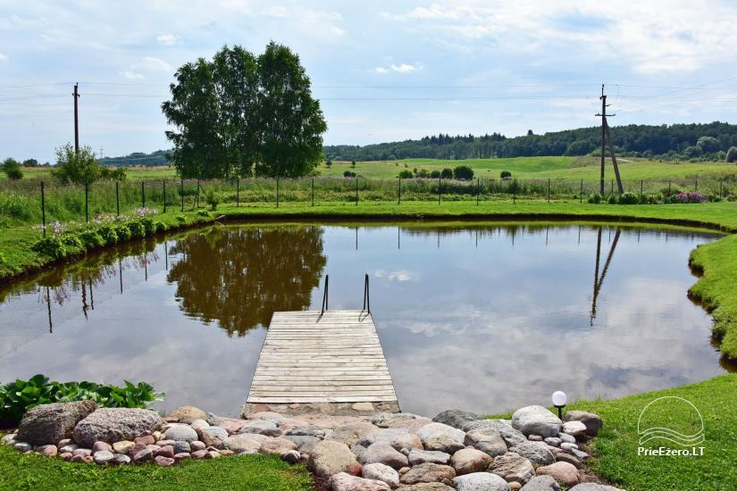 Villas un sauna īre Traķos reģionā - Villa Trakai - 52