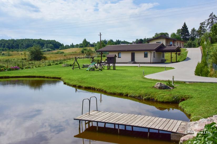 Villas un sauna īre Traķos reģionā - Villa Trakai - 1