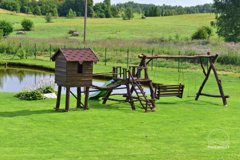 Villas un sauna īre Traķos reģionā - Villa Trakai - 53
