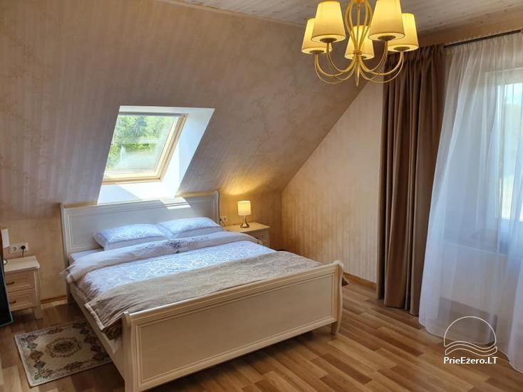 Lauku sēta Grapeldvaris: pirts, zāle, 70 gultas - 14