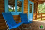Koka karkasa māja ar saunu 6 personām Pusu giraite - 5