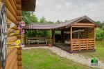 Koka karkasa māja ar saunu 6 personām Pusu giraite - 6