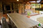 Koka karkasa māja ar saunu 6 personām Pusu giraite - 7