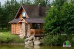 Koka karkasa māja ar saunu 6 personām Pusu giraite - 4