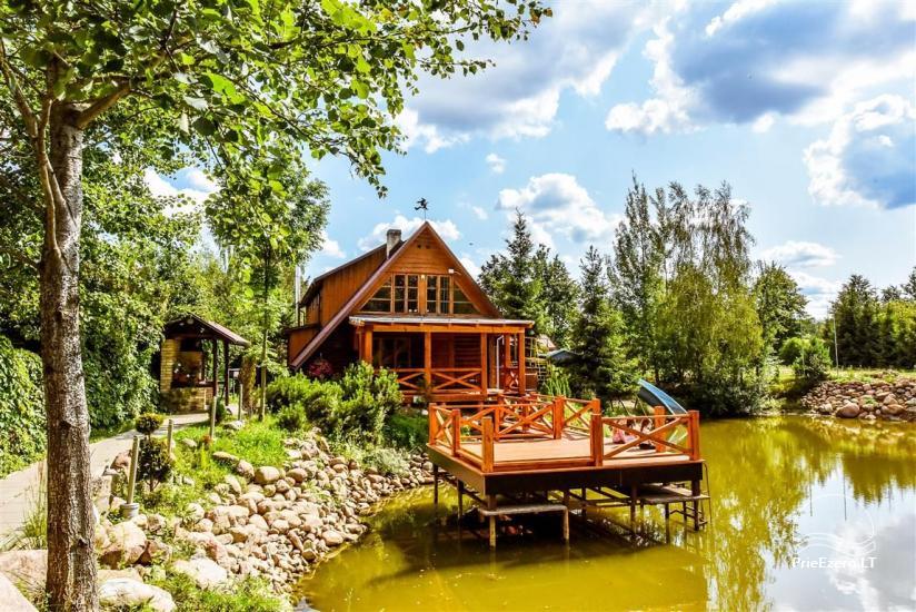 Lauku māja Muravskų pirtis Viļņā - banketi, semināri, naktsmītnes, sauna - 3