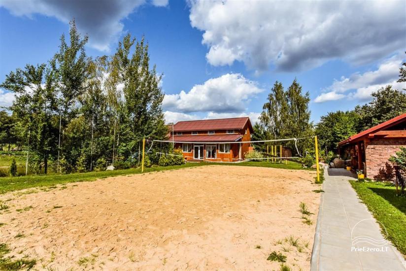 Lauku māja Muravskų pirtis Viļņā - banketi, semināri, naktsmītnes, sauna - 11