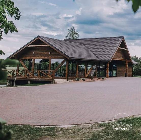 Jaunā lauku sēta Maudutis pie ezera Plateliai - 6