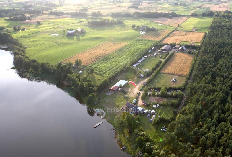 Izklaides un atpūtas centrs pie ezera Seivis Polijā Šilainė - 31