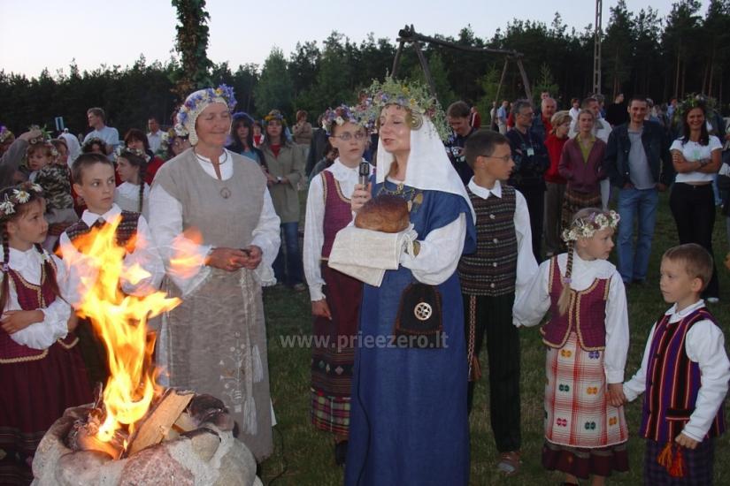 Izklaides un atpūtas centrs pie ezera Seivis Polijā Šilainė - 14