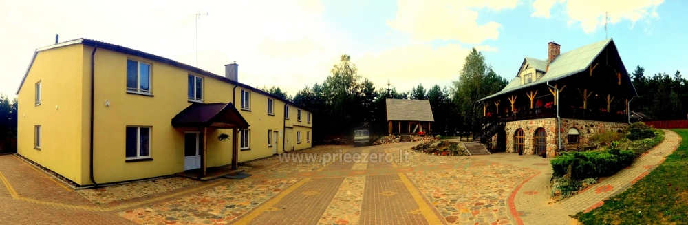 Izklaides un atpūtas centrs pie ezera Seivis Polijā Šilainė - 24