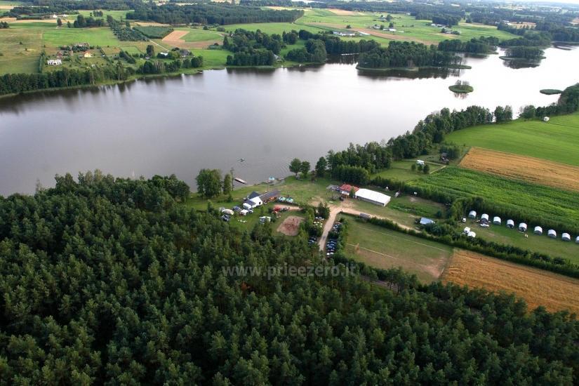Izklaides un atpūtas centrs pie ezera Seivis Polijā Šilainė - 28