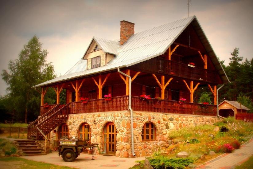 Izklaides un atpūtas centrs pie ezera Seivis Polijā Šilainė - 1