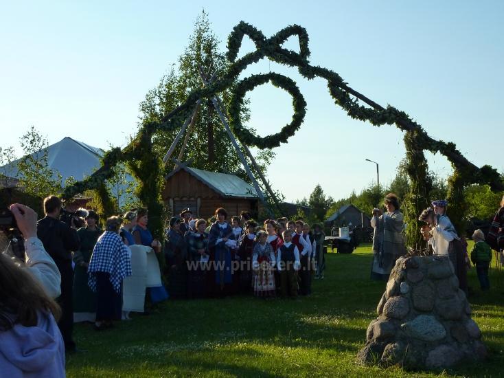 Izklaides un atpūtas centrs pie ezera Seivis Polijā Šilainė - 13