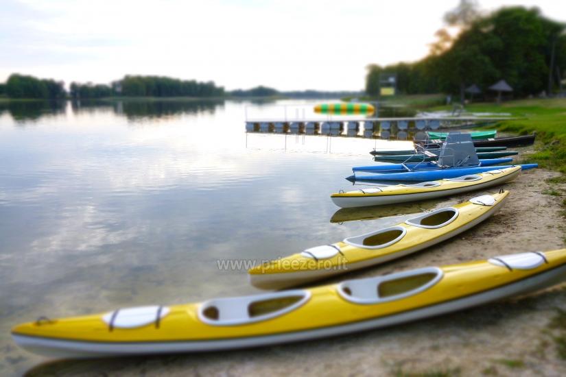 Izklaides un atpūtas centrs pie ezera Seivis Polijā Šilainė - 6