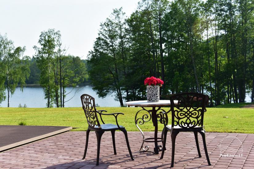 Lauku sēta pie ezera: kajaki, sauna, tenisa korts, laivas - 29