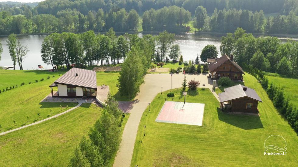 Lauku sēta pie ezera: kajaki, sauna, tenisa korts, laivas - 2