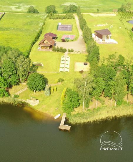 Lauku sēta pie ezera: kajaki, sauna, tenisa korts, laivas - 3