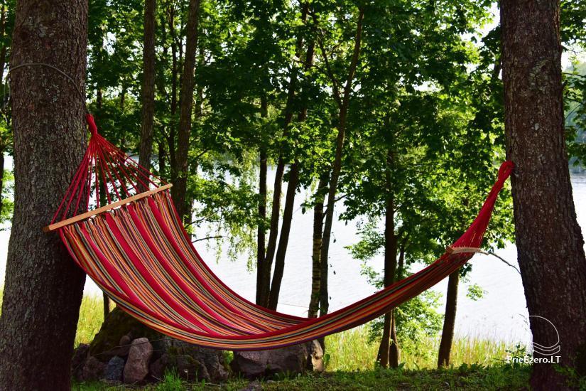 Lauku sēta pie ezera: kajaki, sauna, tenisa korts, laivas - 30