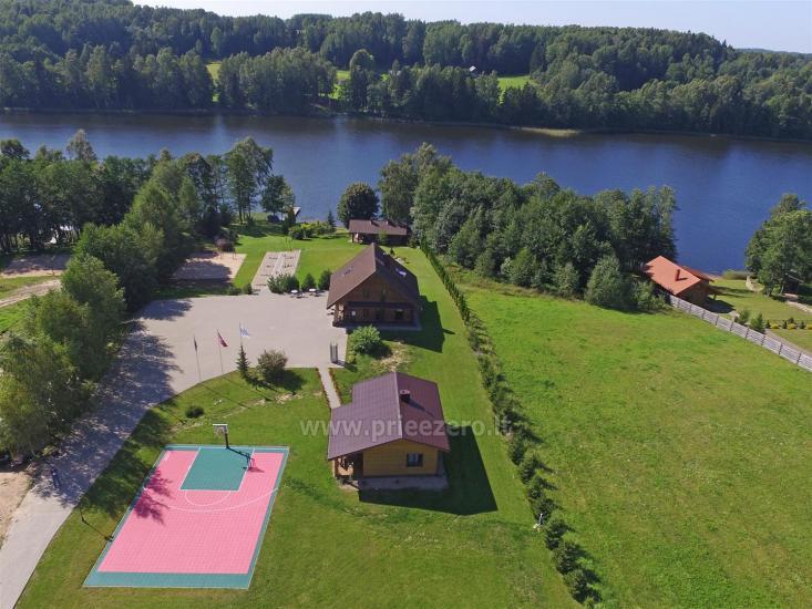 Lauku sēta pie ezera: kajaki, sauna, tenisa korts, laivas - 1