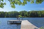 Lauku sēta pie ezera: kajaki, sauna, tenisa korts, laivas - 8