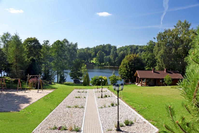 Lauku sēta pie ezera: kajaki, sauna, tenisa korts, laivas - 21