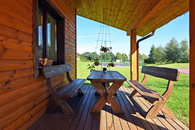 Lauku sēta pie ezera: kajaki, sauna, tenisa korts, laivas - 37