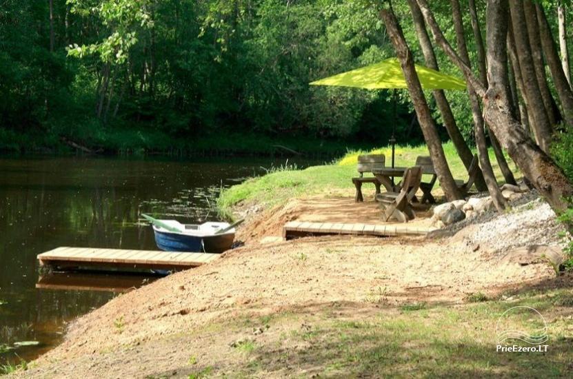 Lauku sēta uz bankas upes Paņevežas rajonā - 3
