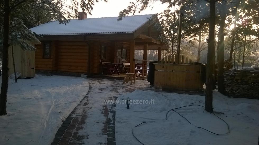 Lauku māja pie ezera Asvejas, Lietuvā - 11